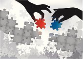Jigsaw Puzzle,Puzzle,Teamwork,Human Hand,Solution,Business,Cooperation,Team,Connect the Dots,Confusion,Assistance,Silhouette,Problems,Opportunity,Choice,Option Key,Control,Symbol,New Business,Success,Global Business,Chance,Part Of,Agreement,Grunge,Design Element,Ideas,Supporting,Choosing,Business Person,Harmony,Concepts,Business,Business Symbols/Metaphors,Business Concepts,Business Abstract