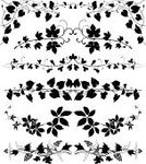 Ivy,Vine,Grape,Leaf,Frame,Grape Leaf,Creeper Plant,Floral Pattern,Silhouette,Plant,Art Deco,Black Color,filigree,Decoration,Ilustration,Ornate,Clematis,Scroll Shape,Swirl,Black And White,Foliate Pattern,Dividing,In A Row,Retro Revival,Sign,Design Element,Set,Nature,Brambleberry,Elegance,Luxury,Natural Pattern,Wave Pattern,Classical Style,Curled Up,Horizontal,page decoration,Ruled Lines