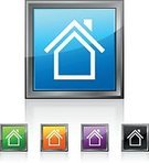 Built Structure,Symbol,Sign,Business,Square,Residential District,Digitally Generated Image,Chimney,Building - Activity,Internet,Black Color,Green Color,Orange Color,Purple,Square Shape,Computer Icon,Push Button,Cut Out,Color Image,Illustration,Hollow,Vector,Home Ownership,White Background,2015,Clip Art,builing exterior,Design Element,Icon Set,268399,Business Finance and Industry