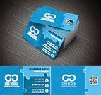 Friendship,Creativity,Futuristic,Clean,Expertise,Business,Horizontal,Puzzle,Design,Blue,Modern,Cards,Model - Object,Plan,Business Card,Illustration,Flat,Template,No People,Vector,Fashion,Arts Culture and Entertainment,2015,Corporate Business,Plan,Business Finance and Industry