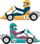 Machinery,Speed,Mode of Transport,Recycling,Social Issues,Technology,Land Vehicle,Sport,Engine,Motorsport,Car,National Landmark,Wheel,Fun,Go-cart,Go-Carting,Illustration,Vector,Electricity,Sports Race,Extreme Sports,2015,motor-sports,Soapbox Cart