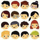 Glasses,People,Symbol,Shiny,Human Body Part,Human Head,Human Face,Human Hair,Cheerful,Curly Hair,Blond Hair,Redhead,Multi-Ethnic Group,Smiling,Parent,Father,Mother,Daughter,Son,Sibling,Brother,Sister,Grandparent,Grandmother,Grandfather,Family,Multi-Generation Family,Orthographic Symbol,Computer Icon,Baby,Child,Teenager,Adult,Cut Out,Cute,Illustration,Cartoon,Young at Heart,Males,Men,Females,Women,Vector,Characters,Collection,Facial Expression,Animated Cartoon,Uncle,Aunt,Husband,Wife,Design Element,Icon Set,Avatar,Illustrations And Vector Art