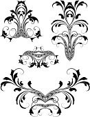 Arabic Style,Art Deco,Gothic Style,Victorian Style,Ornate,Art Nouveau,Frame,Acanthus Plant,Scroll Shape,Growth,Decoration,Floral Pattern,Engraving,Swirl,Fleuron,Spiral,Leaf,Design Element,Engraved Image,Old-fashioned,Black Color,Retro Revival,Intricacy,Vector,Luxury,Elegance,Squiggle,Antique,Cartouche,Vector Florals,Vector Backgrounds,Vector Ornaments,Symmetry,Illustrations And Vector Art