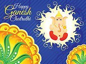 ganpati,chaturthi,Abstract,Celebration,India,No People,Ganesha,Art And Craft,International Border,Art,Diwali,Wallpaper,Rangoli,Illustration,2015,Circle,Picture Frame,God,Geographical Border,Vector,Rainbow,Multi Colored,Floral Pattern