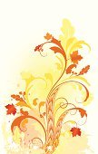 Autumn,Acorn,Oak Tree,Growth,Leaf,Art Nouveau,Swirl,Vector,Maple Tree,Backgrounds,Floral Pattern,Abstract,Scroll Shape,Elegance,Ilustration,Orange Color,Art Deco,Squiggle,Engraving,Engraved Image,Curve,Ornate,Color Gradient,Gothic Style,Yellow,Decor,Illustrations And Vector Art,Vector Florals,Decoration,Vector Backgrounds,Curled Up,Vector Ornaments,Victorian Style,Modern,Twisted