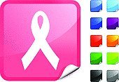 Breast Cancer Awareness Ribbon,Breast Cancer,Ribbon,Ribbon,Pink Color,Symbol,Support,Label,Black Color,Computer Icon,Ilustration,Healthy Lifestyle,Vector,Healthcare And Medicine,Design,Red,White Background,Digitally Generated Image,Shiny,Page Curl,Blue,Green Color,Orange Color,Purple