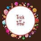 Food,Enjoyment,Symbol,Candy,Design,Party - Social Event,Halloween,Store,Circle,Pattern,Season,Night,Decoration,Refreshment,Dessert,Lollipop,Bubble Gum,Frame,Cut Out,Candy Cane,Ornate,Candy Corn,Illustration,Celebration,Flat,Cartoon,Copy Space,Gourmet,Trick Or Treat,Group Of Objects,Vector,Holiday - Event,Toffee,October,2015,Design Element,Icon Set,268399