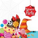 Food,Enjoyment,Symbol,Gift,Hat,Candy,Cookie,Human Skull,Design,Label,Party - Social Event,Halloween,Spider Web,Pattern,Spider,Season,Night,Decoration,Refreshment,Dessert,Muffin,Lollipop,Bubble Gum,Cut Out,Ornate,Candy Corn,Illustration,Celebration,Flat,Cartoon,Copy Space,Gourmet,Trick Or Treat,Group Of Objects,Vector,Caramel,Cupcake,Holiday - Event,Toffee,October,2015,Design Element,Icon Set,Gift Box,268399