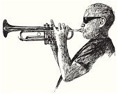 Jazz,Trumpet,Musician,Musical Instrument,Music,Wind,Music,Illustrations And Vector Art,Arts And Entertainment