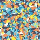 Mosaic,Multi Colored,Pattern,Backgrounds,Triangle Shape,Abstract,Illustration,No People,Vector,Print,Vibrant Color,2015