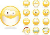 Smiley Face,Smiling,Emoticon,Human Face,Emotion,smilies,Symbol,Cartoon,Computer Icon,Depression - Sadness,Cheerful,Sadness,Sneering,Eyeglasses,Yellow,Sunglasses,Sulking,Label,Pirate,Anxiety,Worried,Grandfather,Senior Men,Mustache,Hat,Shiny,Gold Tooth,Orange Color,Anger,Earring,Ilustration,Furious,Concepts And Ideas,Shock,Headscarf,Feelings And Emotions,Illustrations And Vector Art,Vector Icons,Vector Cartoons