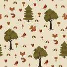 No People,Squirrel,Background,Fox,Animal,Template,Illustration,Nature,Leaf,Image,Animal Markings,2015,Seamless Pattern,Bird,Clip Art,Forest,Backgrounds,Tree,Vector,Pattern