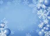 Christmas,Snowflake,Backgrounds,Winter,Snow,Holiday,Blue,Frame,Christmas Ornament,Christmas Decoration,Vector,Decoration,Ice,White,Illuminated,Design,Season,Knick Knack,Sphere,Shiny,Cold - Termperature,Glowing,Icicle,Copy Space,yuletide,Vector Backgrounds,Illustrations And Vector Art,No People,Colored Background,Large Group of Objects