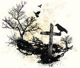 Cross,Cross Shape,Crow,Horror,Spooky,Tree,Cemetery,Grunge,Dirty,Vector,Grave,Bird,Winter,Landscape,Sketch,Watercolor Painting,Rough,Halloween,Dark,Bare Tree,Drawing - Art Product,Flying,Textured,Nature,Textured Effect,Art,Ilustration,No People,inked,Design Element,Splattered,Messy,Painted Image,Ink Drawing,Stained,Illustrations And Vector Art,Arts Backgrounds,Nature,Arts And Entertainment,Landscapes