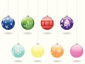 Christmas Ornament,Christmas Tree,Christmas Decoration,Christmas,Sphere,Decoration,Holiday,Religious Icon,Blue,Vector,Hanging,Winter,Star Shape,Snowflake,Multi Colored,Isolated,Circle,Ilustration,Green Color,Red,Set,Shiny,Isolated On White,Glowing,December,Illustrations And Vector Art,Celebration,Vector Ornaments,Holidays And Celebrations,Christmas,No People