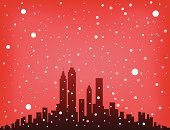 New York City,Urban Skyline,Chicago,Christmas,Snow,Winter,Seattle,Manhattan,Built Structure,San Francisco County,Silhouette,Cityscape,Looking At View,Scenics,Red,Ilustration,Cold - Termperature,Shadow,Multi Colored,Building Exterior,Color Image,Snowing,Square,Copy Space,No People,Looking Through Window,Sky,Digitally Generated Image,Star Shape,Paintings,Christmas,Thanksgiving,New Year's,Holidays And Celebrations,Weather,Meteorology,Backgrounds,Image