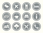 Airplane,Bed,Computer Icon,Car,Coffee - Drink,Telephone,House,Icon Set,Snack,Weather,Advice,Abstract,Book,Computer,Interface Icons,Internet,Vector,Ilustration,ID Card,Web Page,Refreshment