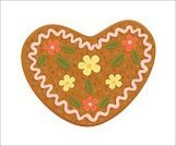 Cookie,Gingerbread Cake,Heart Shape,Gingerbread Cookie,Oktoberfest,Valentine's Day - Holiday,Christmas,Germany,Cake,Symbol,Baked,Cute,Dessert,Food,Ornate,Brown,Cultures,Vector,Ilustration,Holiday,Celebration,Dating,Season,Pink Color,Flirting,Valentine's Day,Illustrations And Vector Art,Christmas,Holidays And Celebrations,Sweet Food,Love,Romance