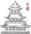 Computer Graphics,Spirituality,Symbol,Home Interior,The Past,History,Architecture,Construction Industry,Nature,Asia,Japan,Asian and Indian Ethnicities,East Asian Ethnicity,Design,Tower,Roof,Balcony,Pagoda,Temple - Building,White Color,Pattern,Ancient,Wood - Material,East,National Landmark,Cultures,Japanese Culture,Religion,Spire,Computer Graphic,Folk Music,Cut Out,Art And Craft,Craft,Illustration,East Asian Culture,Sketch,Eaves,Building Exterior,Vector,Travel,White Background,Religious Symbol,Arts Culture and Entertainment,2015,Classic,Business Finance and Industry