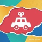 Child,81352,Childhood,Sign,Cute,Car,Collection,Toy,Illustration,Symbol,2015,Gift,Fun,Vector,Single Object