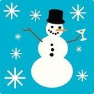 Snowman,Martini,Christmas,Coal,Winter,Holiday,Ilustration,Alcohol,Snowing,Men,Vodka,Snow,Objects/Equipment,Alcohol,Food And Drink,Mountain Peak,Hat,Olive,flakes