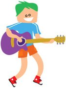 Child,Guitar,Music,Singing,Skill,Little Boys,Musical Instrument,Learning,Guitarist,Classical Concert,Named Play,String Instrument,Recreational Pursuit,Playing,Life,Performance,Popular Music Concert,Isolated,Musician,Folk Music,Musical Instrument String,Electricity,Lifestyles,Sound,Playful,People,Ilustration,Performer,Chord,Acoustic Guitar,Entertainment,Offspring,Historical Reenactment,Cute,Classical Musician,Clip Art,Modern Rock,Musical Theater,Illustrations And Vector Art,Leisure Activity,Fretboard