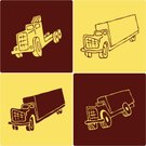Delivery Van,Truck,Semi-Truck,Dump Truck,Toy Truck,Wheel,Construction Industry,Tire,Pick-up Truck,Objects/Equipment,Transportation,Industrial Objects/Equipment,Illustrations And Vector Art,Vector Icons,Diesel,Ilustration,Pencil Drawing,Equipment,box truck