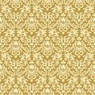 Wallpaper Pattern,Banner,Pattern,Decoration,1940-1980 Retro-Styled Imagery,Leaf,Abstract,Effortless,Yellow,Textured Effect,Ornate,Backgrounds,Flower,Vector,Vector Ornaments,Vector Florals,Ilustration,Illustrations And Vector Art,Vector Backgrounds