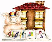 Pig,Cartoon,Humor,T-Shirt,Watch,Ilustration,Market,Farmer's Market,Market Stall,Selling,Flea Market,Farm Animals,Retail/Service Industry,Consumerism,Industry,Concepts And Ideas,Wristwatch,Street Market,Animals And Pets