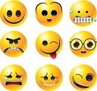Emoticon,Smiley Face,Anger,Nerd,Smiling,Cartoon,Vector,Fear,Clip Art,Vector Icons,Vector Cartoons,Isolated Objects,Illustrations And Vector Art,Isolated-Background Objects
