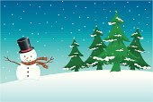 Snow,Tree,Wrapped,Christmas,Landscape,Snowman,Green Color,Winter,Wind,Clip Art,Vector,Christmas Decoration,Backgrounds,Striped,Holidays And Celebrations,Snowflake,Christmas,Scarf,Holiday Backgrounds,Twig,Copy Space,Ilustration,Cold - Termperature,Illustrations And Vector Art,Blue,Branch,Star Shape,Design,Hat,Red,Frost,Nature