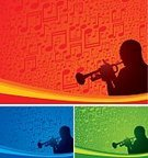 Jazz,Salsa,Trumpet,Musical Note,Backgrounds,Music Festival,Music,Silhouette,Musician,Blue,Musical Instrument,Nightclub,Green Color,Red,Multi Colored,Back Lit,Digitally Generated Image,Nightlife,Male,Arts Backgrounds,Vector Backgrounds,Music,Illustrations And Vector Art,Computer Graphic,Entertainment,Arts And Entertainment