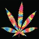 Marijuana,Marijuana Plant,Tie Dye,Leaf,Vector,Weed,Psychedelic,Pink Color,1960s Style,Color Image,1970s Style,Rainbow,Purple,1940-1980 Retro-Styled Imagery,Circle,Multi Colored,Blue,pot leaf,White,Red,Ilustration,Yellow,Orange Color,Green Color,Vibrant Color,Illustrations And Vector Art,Vector Backgrounds,Vector Ornaments,Vector Icons