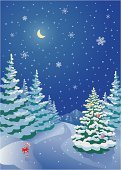 Christmas Tree,Christmas,Winter,Snow,Tree,Non-Urban Scene,Road,Forest,Landscape,Fir Tree,Snowing,Outdoors,Backgrounds,Night,Scenics,Vertical,Vector,Blue,Moon,Spruce Tree,Sky,Holiday,Candy Cane,Woodland,Drawing - Art Product,Ilustration,North,Snowdrift,No People,Season,Snowflake,Coniferous Tree,Clip Art,Cold - Termperature,Color Image,Holidays And Celebrations,Landscapes,Nature,Christmas,Copy Space,Nature,Illustrations And Vector Art