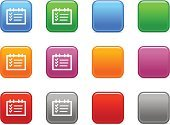Check Mark,Orange Color,Interface Icons,Symbol,Note Pad,to-do,Icon Set,Examining,Simplicity,Personal Organizer,Square Shape,Sign,Blue,Outline,Colors,Pink Color,Technology,Silver Colored,Purple,Illustrations And Vector Art,Gray,White,Computers,Vector Icons,Contour Drawing,Color Image,Computer Icon,Vector,Technology Symbols/Metaphors,Red