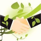 Handshake,Green Color,Business,Environment,Partnership,Recycling,Human Hand,Agreement,Meeting,Shaking,Environmental Conservation,Communication,Abstract,People,Teamwork,Men,Cooperation,Innovation,Ideas,Vector,Leaf,Ilustration,Plant,Gesturing,Concepts,White,Suit