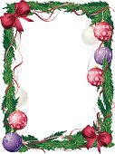 christmas frame,Christmas,Frame,Garland,Purple,Decoration,Red,Ribbon,White,Christmas Decoration,Pine Tree,Vector,Tree,Multi Colored,Christmas Ornament,Hanging,Branch,Side View,White Background,Illustrations And Vector Art,Season,Christmas,Vector Backgrounds,Shiny,Holidays And Celebrations,Sphere,Man Made Object,Design Element,No People,Celebration,Green Color