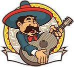 Mariachi Band,Cinco De Mayo,Mexican Culture,Mexican Ethnicity,Sombrero,Mascot,Mustache,Vector,Guitar,Musician,Ilustration,Banner,Singing,Cheerful,Happiness,Smiling,Holiday Backgrounds,Vector Cartoons,Holidays And Celebrations,White Background,Celebration,Illustrations And Vector Art,Arts And Entertainment