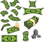 Currency,Dollar,Coin,Paper Currency,Wealth,Dollar Sign,Falling,Money Roll,Stretching,Business,Savings,Crumpled,Finance,Incentive,Money to Burn,Giving,USA,Home Finances,Debt,Investment,Luxury,Exchange Rate,Vector Cartoons,Business Symbols/Metaphors,Illustrations And Vector Art,Business,Business Concepts