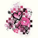 Heart Shape,Punk,Graffiti,Pink Color,Valentine's Day - Holiday,1980s Style,Grunge,Flower,Single Flower,Rose - Flower,Doodle,Black Color,Design,Arrow,Vector,Star Shape,Lipstick Kiss,Sketch,Design Element,Thorn,Scroll Shape,Drawing - Art Product,Scroll,Spray,Ilustration,Splattered,Textured Effect,Distressed,Heart And Arrow,Valentine's Day,Holidays And Celebrations,Hand-drawn,check pattern,Illustrations And Vector Art
