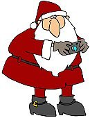 Santa Claus,Camera - Photographic Equipment,Christmas,Men,Male,Cartoon,Photography,Beard,Holiday,Christmas,Household Objects/Equipment,People,Objects/Equipment,Digitally Generated Image,Holidays And Celebrations,Ilustration