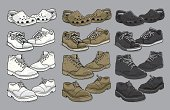 Shoe,Dress Shoe,Sports Shoe,Crocodile,Canvas Shoe,Sandal,Rubber,Clothing,Variation,Personal Accessory,Fashion,Casual Clothing,Fashion,Isolated Objects,Beauty And Health,Work Shoes