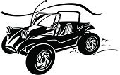 Beach Buggy,Volkswagen,Off-Road Vehicle,Racecar,Symbol,Sports Car,Transportation,Sport,Tire,Land Vehicle,Summer,Sports And Fitness,Extreme Sports,Transportation,Illustrations And Vector Art,Personal Land Vehicle,Sand,Street,Computer Graphic