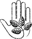Human Hand,Leaf,Plant,Grunge,Black And White,Textured Effect,Religious Icon,Monochrome,Symbol,Nature,Illustrations And Vector Art,Damaged,Distressed,Concepts And Ideas