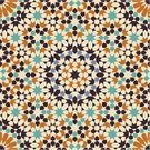 Pattern,Morocco,Islam,Mosaic,Arabic Style,Seamless,Asian Ethnicity,Art,Tiled Floor,Textile,Decoration,Backgrounds,Decor,Cultures,Repetition,Painted Image,Star Shape,Wallpaper Pattern,Old-fashioned,Creativity,Antique,Clip Art,Illustrations And Vector Art,Architectural Detail,Arts Backgrounds,Arts And Entertainment,Architecture And Buildings
