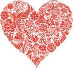 Heart Shape,Valentine's Day - Holiday,Rose - Flower,Flower,Single Flower,Love,Floral Pattern,Pattern,Vector,Shape,Red,I Love You,Ornate,Ilustration,Design,Swirl,Nature,Plant,Design Element,flourishes,Elegance,Group of Objects,Single Object,Large Group of Objects,Passion,Romance,Embellishment,eps8