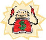Fuel Pump,Labeling,Gasoline,Fuel and Power Generation,Finance,Fossil Fuel,Humor,Ilustration,Stealing,Bank Robber,Cartoon,Doodle,Sign,Art,Thief,Gallon,Stock Market,Supporting,liter,Consumerism,distillate,Inflation,Dollar Sign,sticker shock,Drawing - Art Product,Objects/Equipment,Illustrations And Vector Art,Vector
