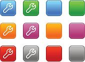 Conformity,Spanner,Symbol,Computer Icon,Adjustable Wrench,Icon Set,Service,Interface Icons,White,Square Shape,Choice,Vector Icons,Simplicity,Orange Color,Computers,Color Image,Pink Color,Purple,Red,Colors,Vector,Silver Colored,Outline,Technology Symbols/Metaphors,Contour Drawing,Gray,Illustrations And Vector Art,Blue,Sign,Technology