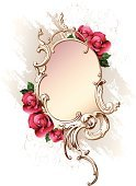 Rose - Flower,Frame,Victorian Style,Flower,Baroque Style,Floral Pattern,Retro Revival,Valentine's Day - Holiday,Pink Color,Old-fashioned,Art,Vector,Rococo Style,Deco,Paintings,Ornate,Backgrounds,Red,Decoration,Old,Swirl,Style,Design,Elegance,Ilustration,Decor,Computer Graphic,Curve,Luxury,White,Beauty,Shape,Design Element,Curled Up,Color Image,Image,Beautiful,Leaf,Wealth,Cartouche,Vector Backgrounds,Vector Florals,Flowers,Rusty,Illustrations And Vector Art,Nature
