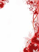 Christmas,Backgrounds,Frame,Holiday,Red,Banner,White,Snowflake,Christmas Ornament,Decoration,Christmas Decoration,Celebration,Sphere,Vertical,Isolated,Ilustration,Multi Colored,Ornate,New Year's Eve,Season,Glass - Material,Shape,Pattern,Backdrop,Vibrant Color,Modern,Design Element,Abstract,Winter,No People,Swirl,Spotted,Creativity,Copy Space,Decor,National Holiday